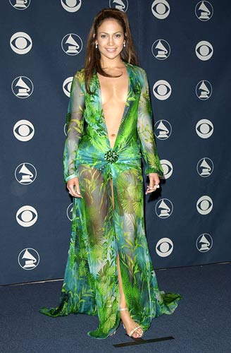 Jennifer Lopez Green Dresses since Jennifer Lopez wowed
